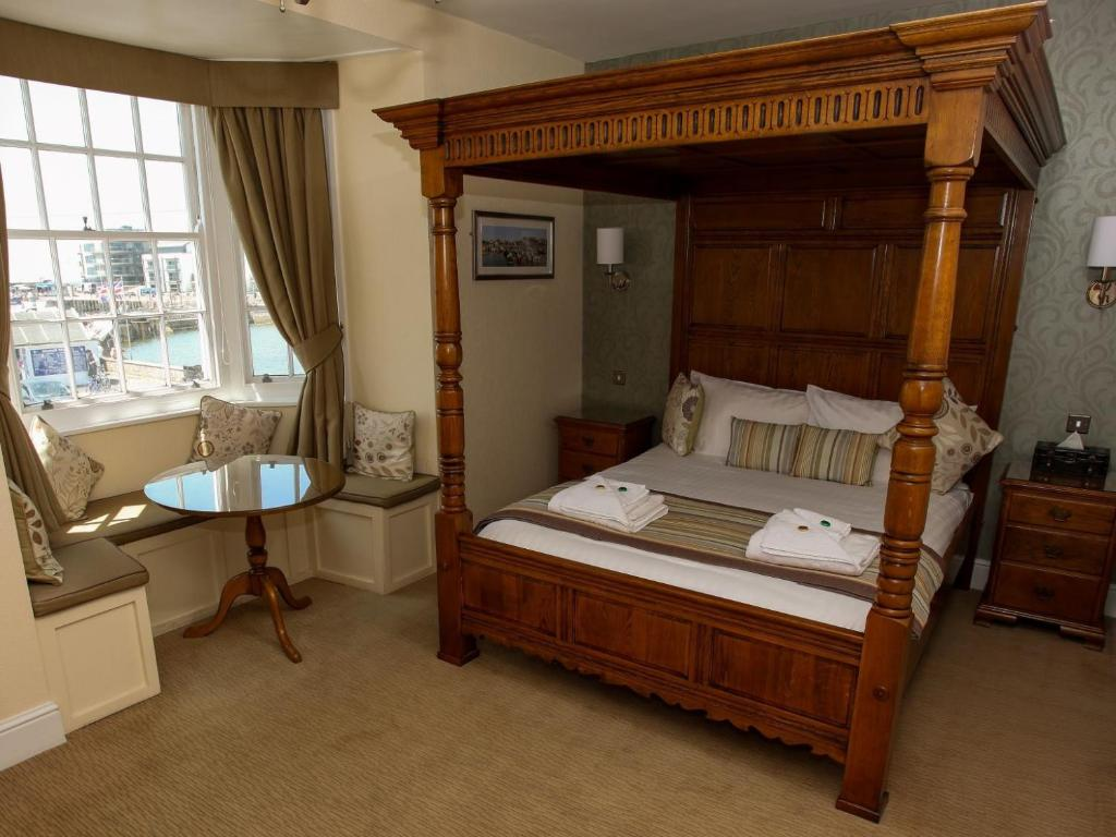 Best hotels Bridport the george room