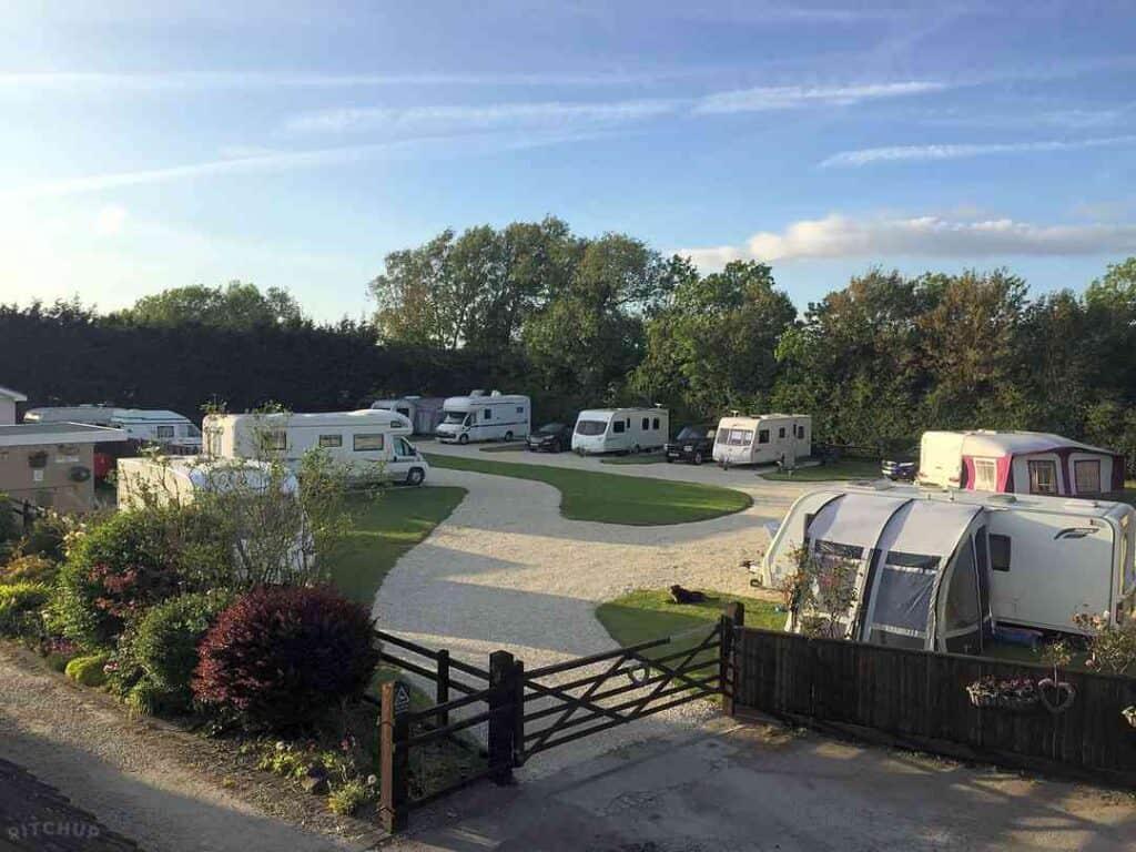 best Bridport camping Greenacres Campsite