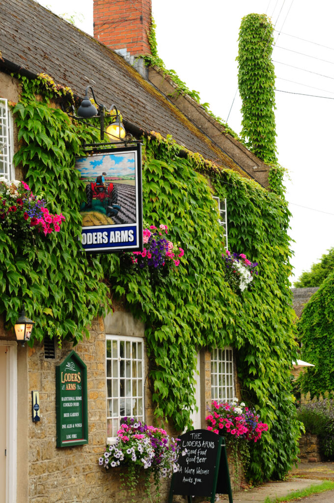best bridport pubs The Loders Arms outside