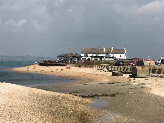 best portsmouth beaches Ferry Road Beach
