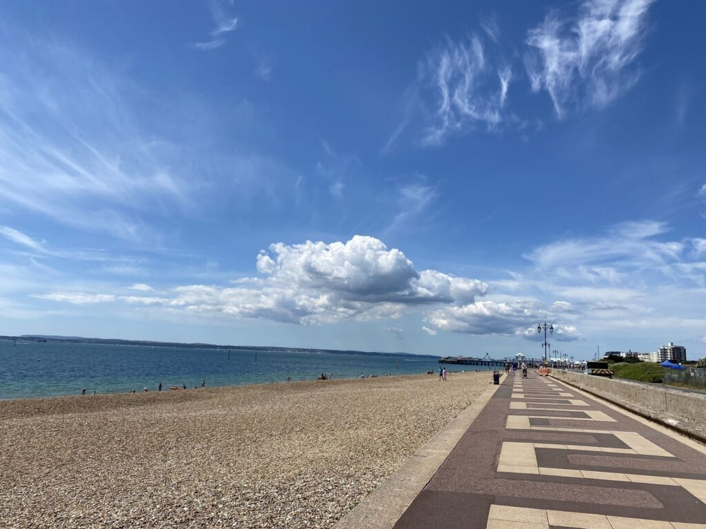 best portsmouth beaches Southsea Beach Portsmouth