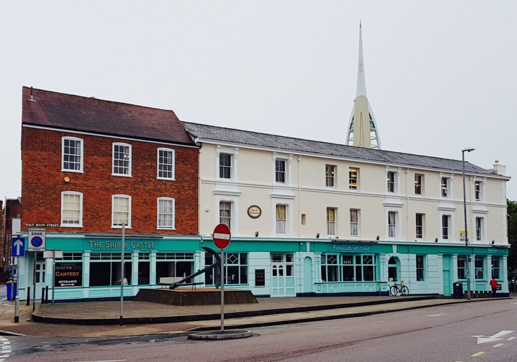 best pubs in portsmouth The Ship and Castle Pub in Portsmouth
