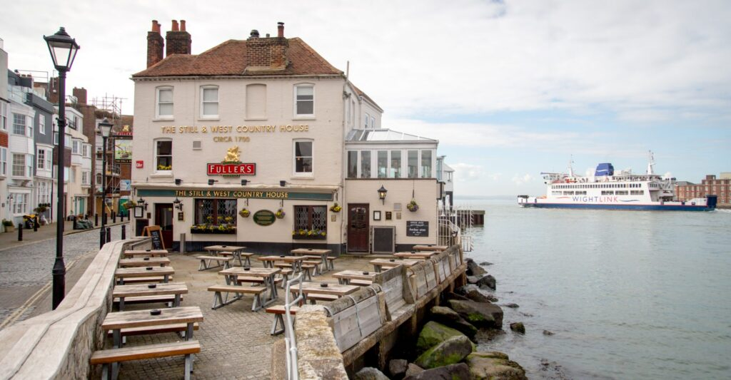 best pubs in portsmouth the still and west